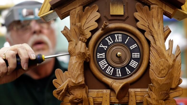 coo coo clock repair